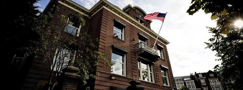 Bezoek Consulaat Generaal USA